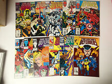 SECRET DEFENDERS #1-11 Marvel Comics 1993 VF   FL