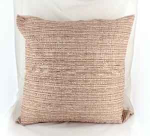 Hotel Collection Euro Pillow Sham Woodrose Woodgrain Pink