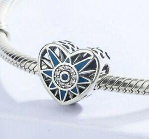 Pandora Heart Genuine S925 Silver Charm