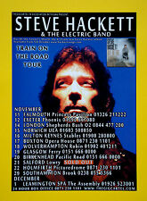 Steve Hackett 'Train On The Road' UK Tour 2009 A5 flyer...ideal for framing!