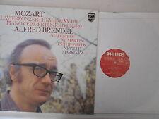 Mozart- Alfred Brendel, Academy Of St.Martin-In-The-Fields, Neville Marriner- LP