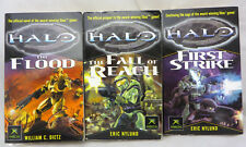 Halo First Strike Fall Reach The Flood  book lot based on xbox game