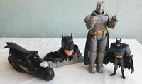 DC COMICS  ACTION FIGURES LOT OF 4 BATMAN, Super Heroes Toys-C-10