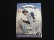 Derek Jeter/Lou Collier 1998 Leaf Limited Exposure Counterparts Insert