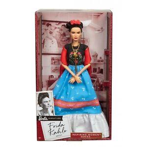 2018 Inspiring Women Barbie Series - FRIDA KAHLO Barbie Doll FJH65 - BRAND NEW!!