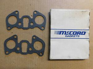 McCord MSF254 Intake Manifold Gasket Set For Chevy/Isuzu Truck 1.8L-1.9L 4 Cyl