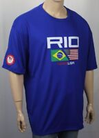 Polo Ralph Lauren Royal Blue Brazil Olympic Crewneck Tee T-Shirt NWT