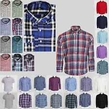 Unbranded Collared Short Sleeve Polycotton Men's Casual Shirts & Tops