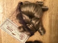 2 doll wigs: Imsco & unbranded bangs, curls blonde & brown sizes 6 & 8