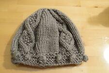 Cappello berretto in lana grigio grey wool beret beanie hat