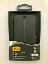 Otterbox Strada Leather Folio/Wallet Case for Samsung Galaxy S8 Plus Onyx Black