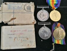 WW1 MEDALS TO FAMILY MEMBERS FROM DERBY SANDERSON ASC & RAMC