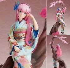 Anime Luka Ruka Flower Clothes Kimono Pink Cute Girl 1/8 PVC Figure No Box