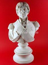 Busto Escultura De Mármol De Nelson-hecho En Inglaterra