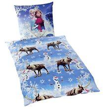 Die Eiskönigin Frozen Disney Bettwäsche Baumwolle 135 x 200 Elsa Sven Anna NEU