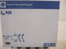Telemecanique Contactor GC1-M24 40A 2 polos