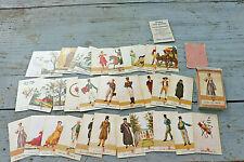 32 cartes ,ancien jeu de Divination : Epitre aux Dames ,notice, Boéchat frères