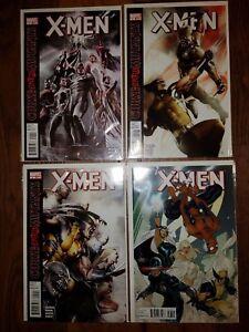 """MARVEL COMICS LOT: X-MEN (2010)  #1-3, 7  """"Curse of the Mutants"""""""