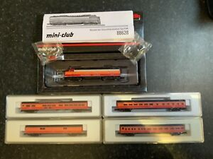 Marklin spur z scale/gauge Complete Southern Pacific Train Set.