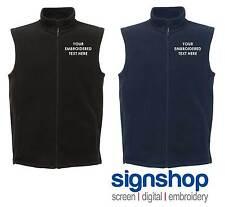 New Personalised Custom Embroidered Regatta Bodywarmer Gilet RG115