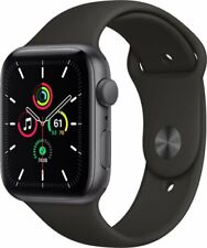 Apple Watch SE (GPS) 40mm Space Gray Aluminum / Black Sport Band *SEALED* NEW!