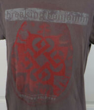 Vtg Breaking Benjamin Unknown Soldier Tshirt Brown Size Small Phobia 2006