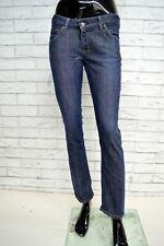 cca08f8c8ca1 Jeans LEE NORMA Donna Taglia Size W28 L33 Pantalone Pants Trousers Woman  Cotone