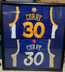 Steph Curry Golden State Warriors Autographed 2 Jerseys (please read)