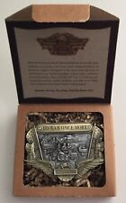 1997 Harley-Davidson TO WAR ONCE MORE Decade Collector Belt Buckle New w/Box