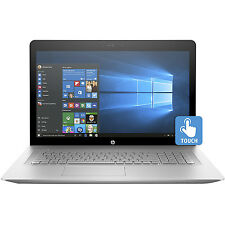 "HP 17-U110NR ENVY 17"" Laptop, Intel i7, 12GB RAM, 1TB HDD, Windows 10, Silver"