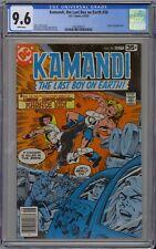 Kamandi #58 CGC 9.6 NM+ Wp Vs. Karate Kid DC Comics 1978 The Last Boy on Earth!