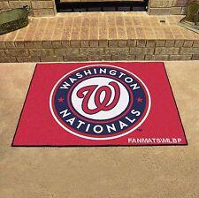 """Washington Nationals 34"""" x 43"""" All Star Area Rug Floor Mat"""