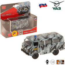 Diecast Vehicles Scale 1:50 UAZ 39625 Russian Special Police Car