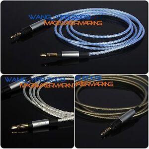 Upgrade Silver Plated HIFI Cable For Sennheiser HD595 HD598 HD 558 518 Headphone