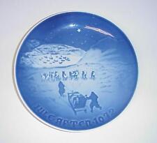 Bing & Grondahl Christmas in Greenland Plate Copenhagen