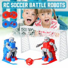 RC Soccer Robots with Remote Control Rechargeable Battery Operated Kids  i