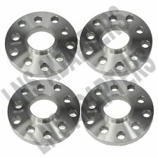 Set of 4 | 15mm Hubcentric Wheel Spacers | 5x100 w/ 57.1mm Hub bore | Flat