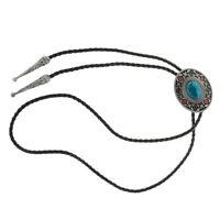 Fashion Men's Bolo Tie Aztec Tribal Native Western American Pattern Bolo Tie