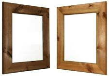 Large Wooden Picture Frames in Antique pine in dark and lite. Made In UK. New