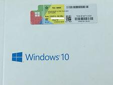 Microsoft Windows 10 Professional Pro COA License Sticker / Label 32 & 64 bit