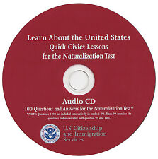 Latest Trump-100 Questions Civic Guide for the US Citizenship Interview Audio CD