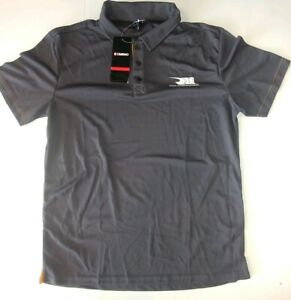 Rahal Letterman Lanigan Mens Licensed Delta Polo 3 Button Shirt NWT Medium