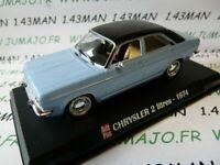 AP17N Voiture 1/43 IXO AUTO PLUS : Chrysler 2 litres 1974