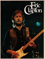 ERIC CLAPTON 1975 THERE'S ONE IN EVERY CROWD U.S. TOUR CONCERT PROGRAM BOOK / NM
