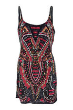*FOREVER UNIQUE* VINTAGE FLAPPER STYLE ART DECO SEQUINNED MINI DRESS (UK 14)