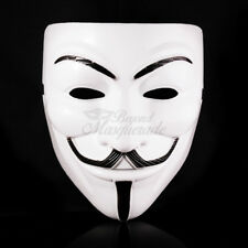 V for Vendetta Masquerade Costume Halloween Guy Fawkes V For Vendetta Mask