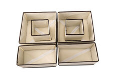 Periea 6 Pack Drawer Organiser Storage Solution Tidy Underbed - 3 Colours