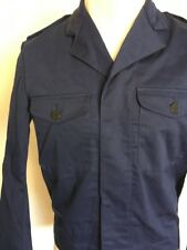 NORSEL FABRIKS AB SWEDISH MILITARY JACKET ~ Navy Blue ~ 50/50 ~ Size C46 ~ Small