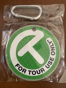 Scotty Cameron Putting Disc Circle T Bag Tag Green