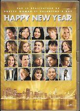 DVD ZONE 2--HAPPY NEW YEAR--MARSHALL/DE NIRO/BIEL/BERRY/DUHAMEL/EFFRON